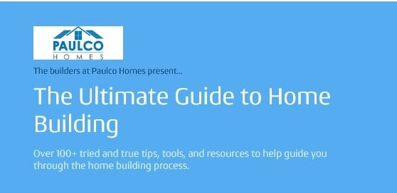 the ultimate guide to home building and construction